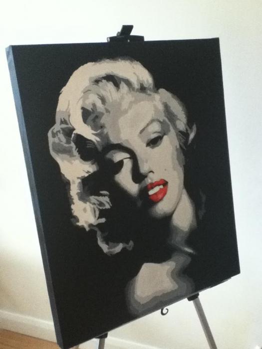 Marilyn Monroe by shazlar
